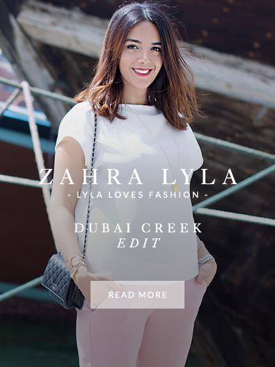 Zahra Lyla wearing Monica Vinader jewellery