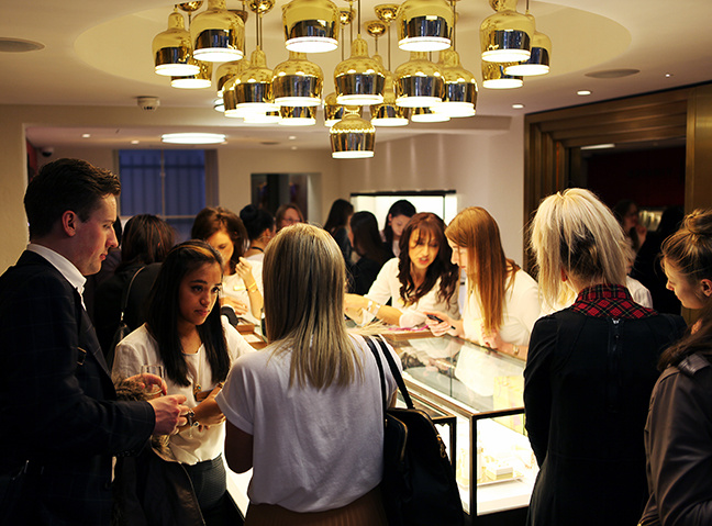 Monica Vinader jewellery shopping event