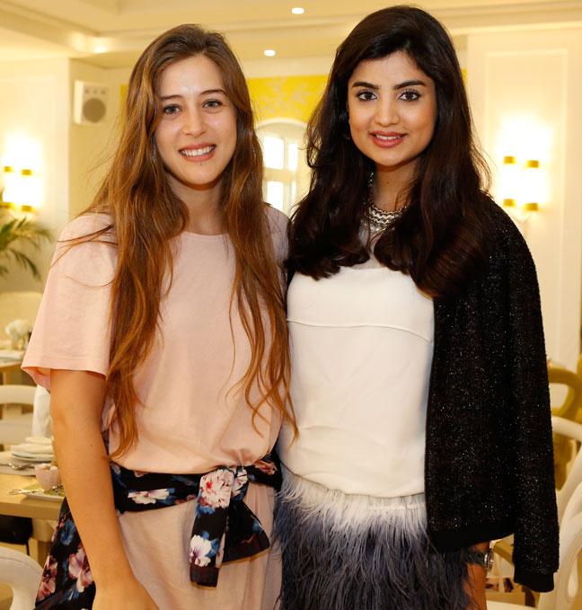 Noor Tehini and Ola Farahat