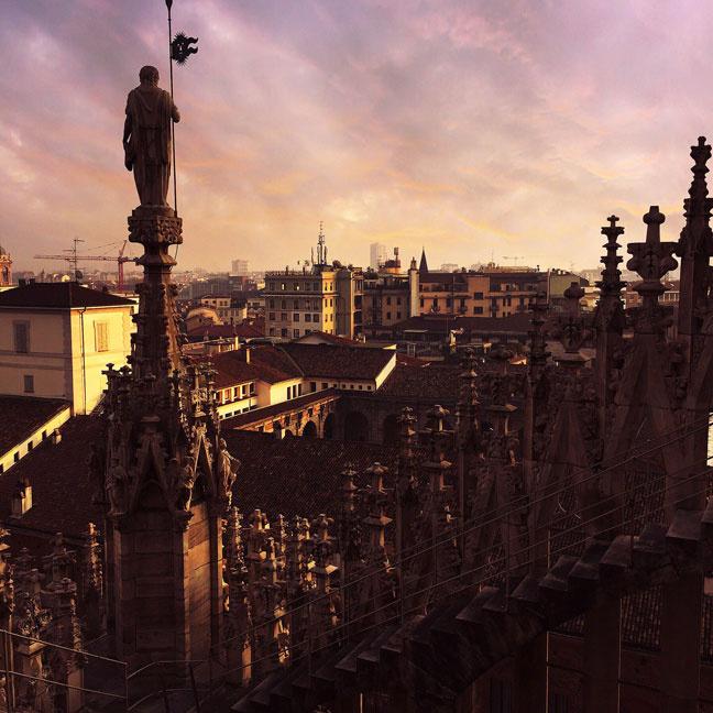 Milan by @veronicaferraro
