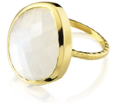 Gp Nugget Ring Large- Moonstone - Monica Vinader