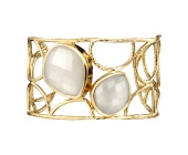 GP Nugget Cuff- Moonstone - Monica Vinader