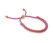 GP Rio Bracelet - Cerise- Love- Small - Monica Vinader