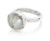 Medina Facet Ring - Monica Vinader