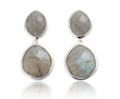 Medium Nugget Drop Earrings - Monica Vinader