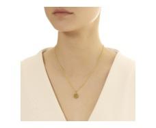Gold Vermeil Ziggy Mini Petal Pendant - Monica Vinader