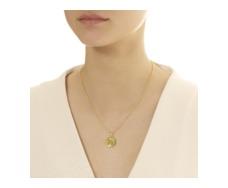 Gold Vermeil Small Siren Pendant - Monica Vinader