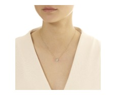 GP Pave Chain Necklace - Diamond - Monica Vinader