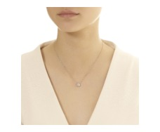 Rose Gold Vermeil Pave Chain Necklace - Diamond - Monica Vinader