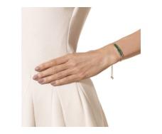 Rose Gold Vermeil Baja Chain Bracelet - Green Onyx - Monica Vinader