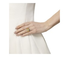 GP Siren Small Stacking Ring  -  Green Onyx - Monica Vinader