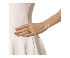 GP Baja Ring - Green Onyx - Monica Vinader