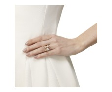 RP Siren Stacking Ring - Moonstone  - Monica Vinader