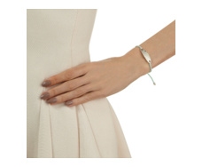 Bali Friendship Bracelet - Mint  - Monica Vinader