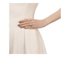 Gold Vermeil Baja Ring - Diamond - Monica Vinader