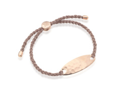 Rose Gold Vermeil Bali Friendship Bracelet - Rose Metallica - Monica Vinader
