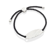 Bali Friendship Bracelet - Black - Monica Vinader