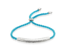 Esencia Friendship Bracelet - Turquoise - Monica Vinader