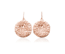 Rose Gold Vermeil Atlantis Earrings - Monica Vinader