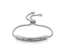 Esencia Scatter Chain Bracelet - White Topaz - Monica Vinader