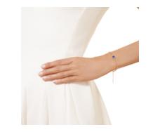 Rose Gold Vermeil Atlantis Gem Mini Bracelet - Lapis - Monica Vinader