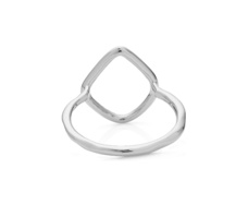 Riva Diamond Hoop Ring - Monica Vinader