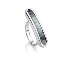 Baja Long Ring - Hematite