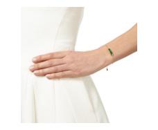 Gold Vermeil Baja Mini Bracelet Green Onyx