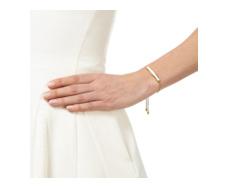 Gold Vermeil Baja Chain Bracelet - White Chalcedony