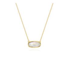 Gold Vermeil Vega Necklace - Moonstone
