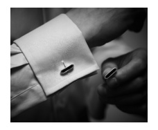 Baja Cufflinks - Lapis Model