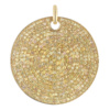 Gold Vermeil Large Yellow Sapphire Ava Pendant - Yellow Sapphire - Monica Vinader