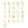 Gold Vermeil Alphabet Pendant J - Monica Vinader