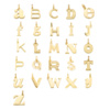 Gold Vermeil Alphabet Pendant U - Monica Vinader